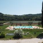 Villa CRU agriturismo con piscina recintata | panoramica