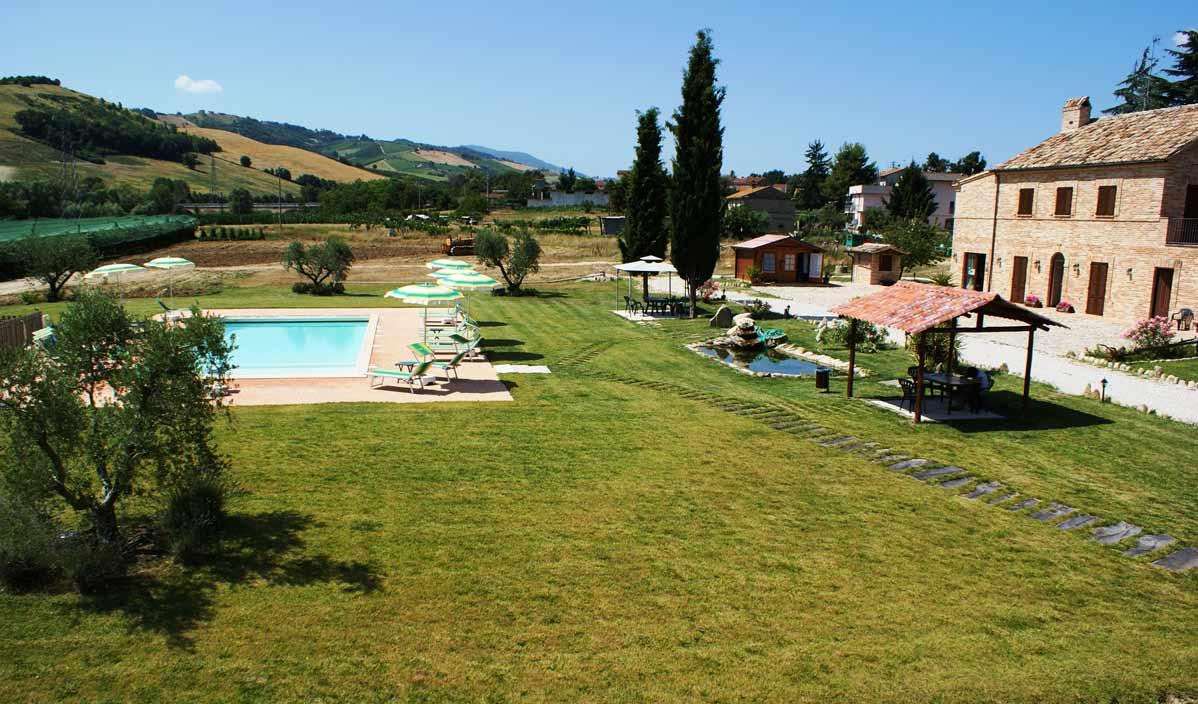 Piscina Villa Cru 11